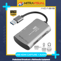 Acacis HDMI Loop + Audio Capture Support Vmix Zoom Wirecast OBS