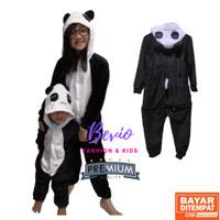 Kostum Panda Anak Lucu Impor Baju Tidur Onesie Cosplay Animal Binatang