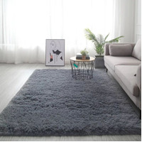 karpet bulu lembut rafsur matras lantai jumbo uk.200x160 tebal 6cm