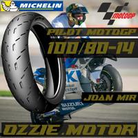 Ban MICHELIN PILOT MOTOGP 100/80-14 matic tubless MIO,BEAT,NEX,VARIO