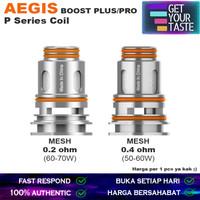 Aegis Boost Pro Coil | Plus 0.2 & 0.4 Ohm by Geekvape P Series Coil