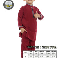 baju koko anak laki laki usia 4-5-6 tahun, setelan anak muslim cowo