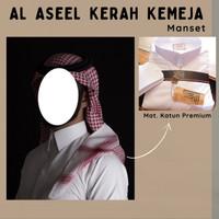 Al Asheel Kerah Kemeja Lengan Berkancing/Manset - El Ashfaa Boutique