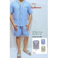 Baju Tidur Pria Panjang Murah/Piyama SWAN Pria Murah/Baju Tidur Murah