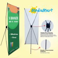 Xbanner Fiber Colok 60x160 | Ybanner | Standing Banner