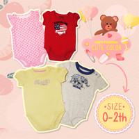 100%ORI OSHKOSH jumper pendek bayi jumpsuit romper bayi Baju 0-24bln - laki-laki, 0-3 Bulan