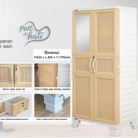 Lemari Plastik Besar Napolly BCR.3D-8577R.LCK