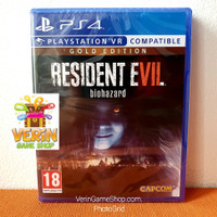 PS4 Resident Evil 7 Gold Edition ( RE7 RE 7 Biohazard Gold Edition )