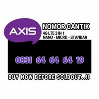 nomor cantik Axis 0831 64 64 64 19