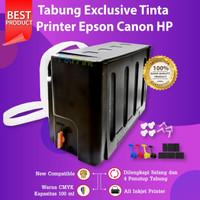 Tabung Exclusive Tinta Printer 4 warna Modif Canon HP Epson Brother