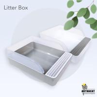 Arthacat Spacious Litter Box – Tempat Bak Toilet Pasir Kucing Besar