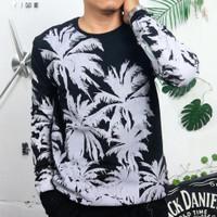 sweater pria lengan panjang bahan baby terry baju dingin cowok