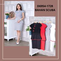 XUEBAI QIPAO DRESS / Pakaian Wanita Imlek / CHEONGSAM / import - Hitam
