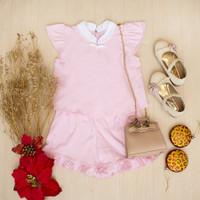 Setelan Anak Perempuan Olivia Set CNY Edition Lacey Atelier