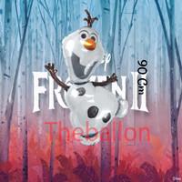 Balon Foil Dekorasi ulang Tahun Olaf | Frozen | Frozen 2