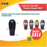 Cup Car Trash Bin / Tempat Sampah Mini - Hitam