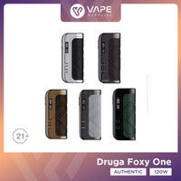 Druga Foxy One 120W MOD Only Authentic by Augvape - MOD Druga - Gunmetal Alcant