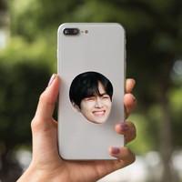 Griptok Kim Tae Hyung V BTS Oppa Korea Phone Grip Pop Stand Socket HP - V - Ketawa