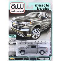 Miniatur Diecast Auto World 64 Chevrolet Silverado LTZ Pickup Steel