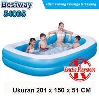 Kolam Renang Anak Bestway Kotak Polos Besar JUMBO Family Pool 54005 -