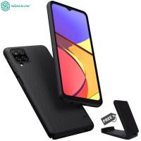 Nillkin Hard Case Samsung Galaxy A12 - Frosted Shield Black Casing Ori