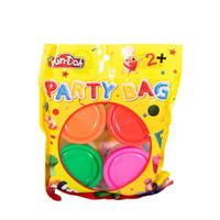 Fun Doh Refill - Isi Lilin Mainan Anak FunDoh PlayDoh Play Doh - PARTY BAG 4 DOH