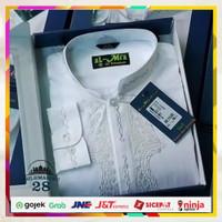 Baju Koko Almia Super Premium Putih Manset