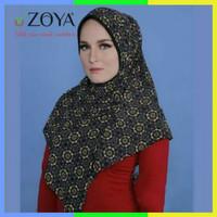 Hijab Instan Bergo Zoya Filia Turkish Kerudung Motif Jilbab Simple