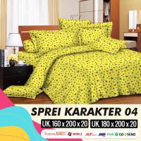 MH - Sprei Set MOTIF ANAK KARAKTER 04