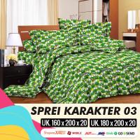 MH - Sprei Set MOTIF ANAK KARAKTER 03
