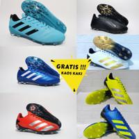 Sepatu Bola Adidas Predator X Free Kaos Kaki Grade Impor