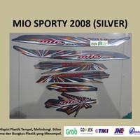 Mio sporty 2008 (silver) List Striping Stripping Stiker Sticker