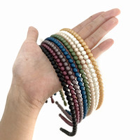 Pearl Hairband Doff - Bando Mutiara Polos Made in Korea - 21748