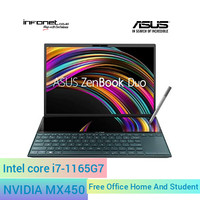 Asus zenbook duo UX482EG-KA751IPS/i7-1165G7/16GB/SSD 512GB/MX450/OHS