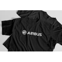 Airbus Official T-Shirt - Kaos Aviasi Pesawat Terbang Premium Cotton