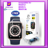 Whitestone Dome Full Adhesive Tempered Glass Apple Watch (40/42/44mm)