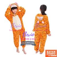 Kostum Tiger Anak Lucu Impor Baju Tidur Onesie Piyama Animal Binatang