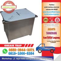 Stainless Steel Grease Trap / Saringan Pembuangan Bak Cuci Piring