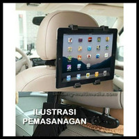 PROMO car holder penyangga IPAD hp tablet tatakan docking mobil keren