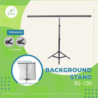 BACKGROUND STAND BS-100T Dengan stand 2m