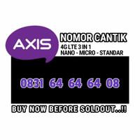 nomor cantik Axis 0831 64 64 64 08