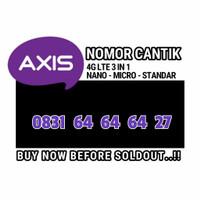 nomor cantik Axis 0831 64 64 64 27