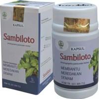Kapsul ekstrak SAMBILOTO Tazakka herbal alami obat anti virus