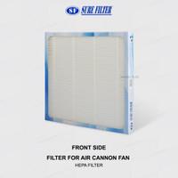 Replacement HEPA Filter for Air Cannon Fan/Turbine Fan