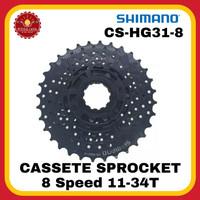 SHIMANO ALTUS CS-HG31-8 Cassete Sprocket 8 Speed 11-34T