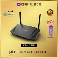 Asus RT-AX56U WiFi 6 Dual-Band Router AX1800 With AiMesh RTAX56U