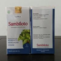 Kapsul SAMBILOTO Obat Demam FLU Antibiotik Herbal Tazakka ORIGINAL