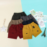 Celana pendek anak uno cargo short pants 1-10 tahun