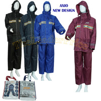 Jas Hujan Raincoat AXIO Europe 882 Silver Series Original New Model