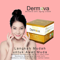 Dermeva Whitening Cream anti aging dan penghilang flek hitam